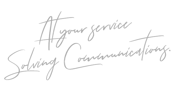 At Your Service Signature