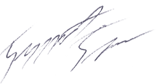 Boris Djuric Signature